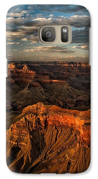 Grand Canyon Sunset Galaxy Case by Cat Connor