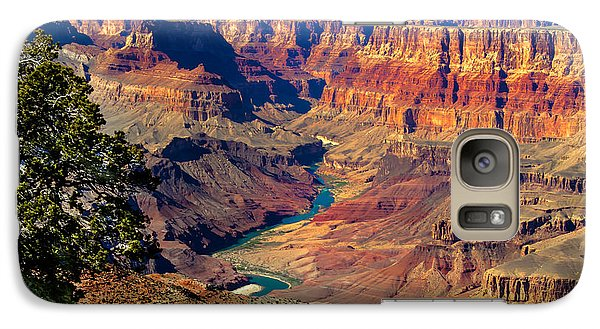 Grand Canyon Sunset Galaxy Case by Robert Bales