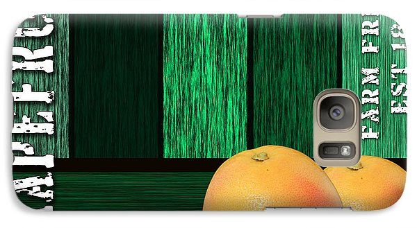 Grapefruit Sign Galaxy Case by Marvin Blaine