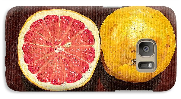 Grapefruits Oil Painting Galaxy S7 Case by
