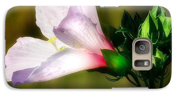 Grasshopper And Flower Galaxy Case by Mark Andrew Thomas