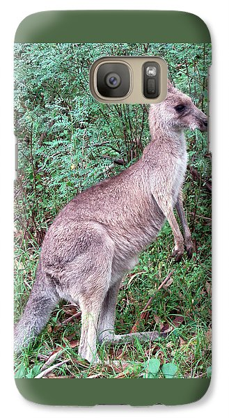 Grazing In The Grass Galaxy Case by Ellen Henneke