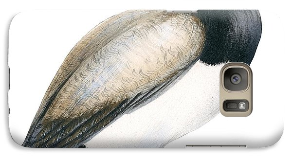 Greater Scaup Galaxy Case by Anonymous