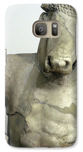 Greece, Athens Classical Era Marble Galaxy S7 Case by Jaynes Gallery