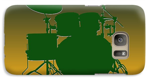 Green Bay Packers Drum Set Galaxy Case by Joe Hamilton