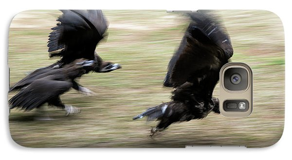 Griffon Vultures Taking Off Galaxy S7 Case by Pan Xunbin