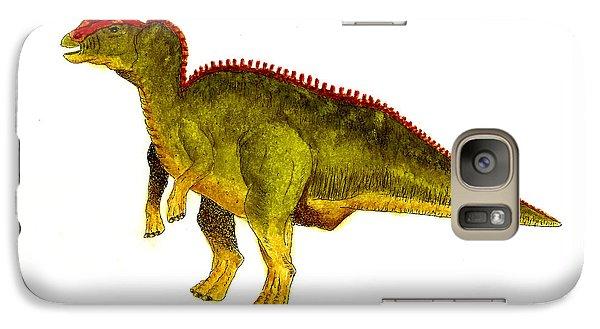 Hadrosaurus Galaxy Case by Michael Vigliotti