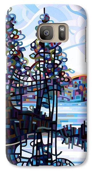 Haliburton Morning Galaxy Case by Mandy Budan