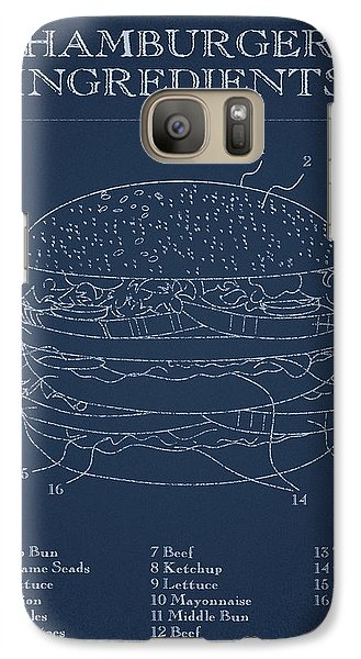 Hamburger Galaxy S7 Case by Aged Pixel