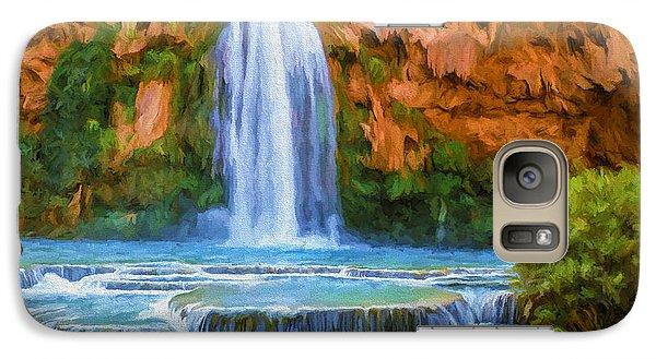 Havasu Falls Galaxy S7 Case by David Wagner