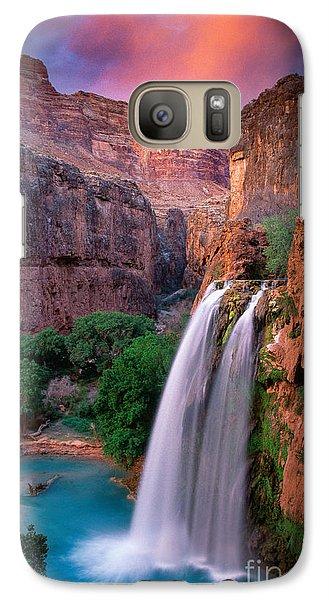 Havasu Falls Galaxy S7 Case by Inge Johnsson