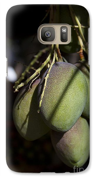 Hawaiian Mango Kihei Maui Hawaii Galaxy S7 Case by Sharon Mau
