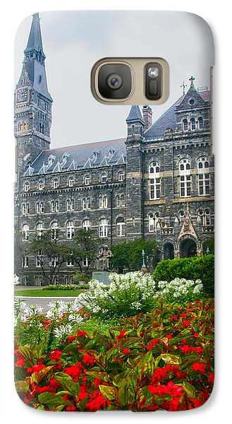 Healy Hall Galaxy S7 Case by Mitch Cat