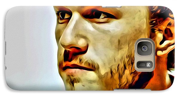 Heath Ledger Portrait Galaxy S7 Case by Florian Rodarte