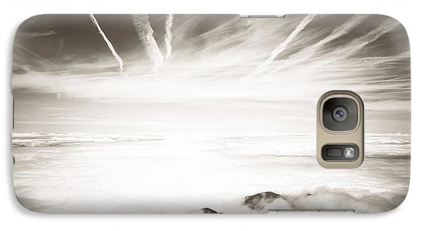 Galaxy Case featuring the photograph Heaven And Hell by Thierry Bouriat