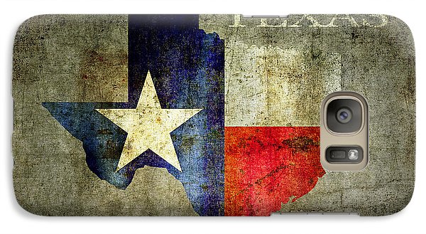 Hello Texas Galaxy S7 Case by Daniel Hagerman