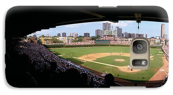 High Angle View Of A Baseball Stadium Galaxy S7 Case by Panoramic Images
