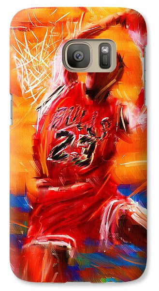 His Airness Galaxy S7 Case by Lourry Legarde