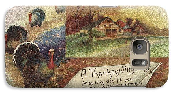 Holiday Postcards Vii Galaxy S7 Case by Wild Apple Portfolio