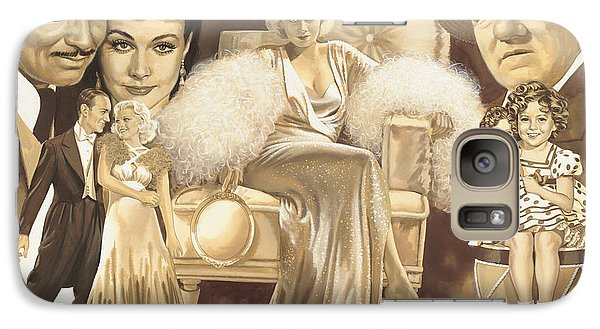 Hollywoods Golden Era Galaxy S7 Case by Dick Bobnick