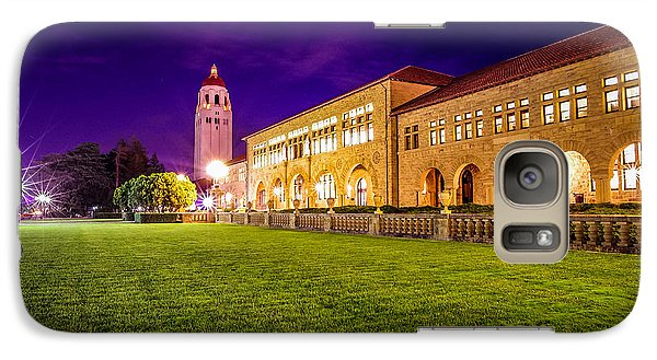 Hoover Tower Stanford University Galaxy S7 Case by Scott McGuire