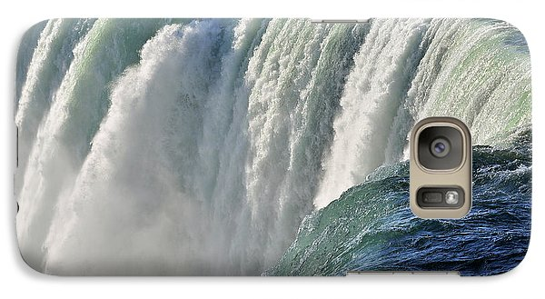 Galaxy Case featuring the photograph Horseshoe Falls by Rodney Campbell