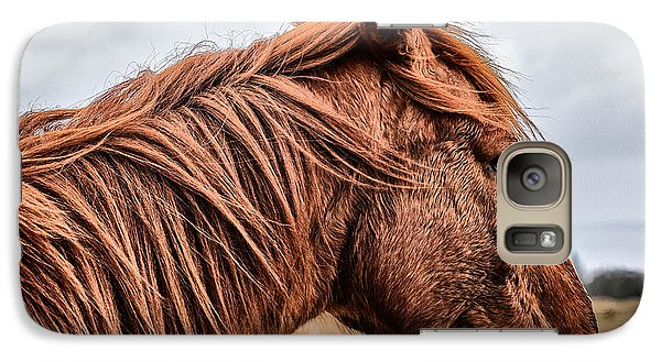 Horsey Horsey Galaxy Case by John Farnan