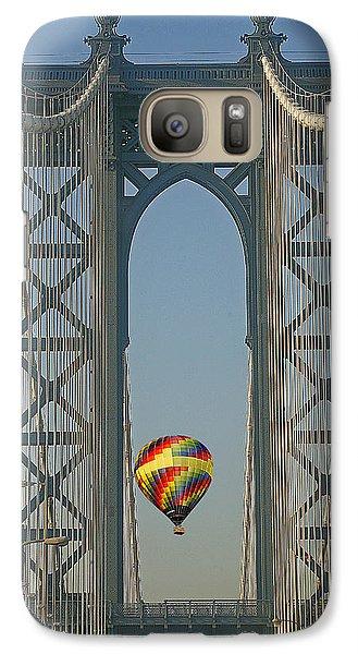Hot Air Balloon Galaxy Case by Susan Candelario