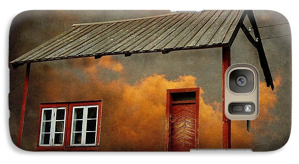 House In The Clouds Galaxy Case by Sonya Kanelstrand