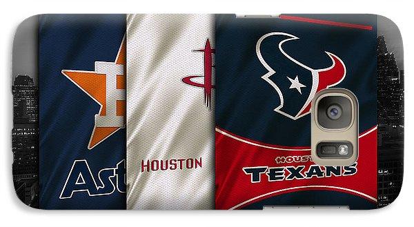 Houston Sports Teams Galaxy S7 Case by Joe Hamilton
