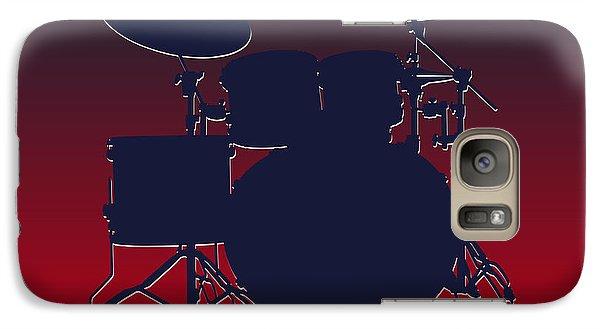 Houston Texans Drum Set Galaxy Case by Joe Hamilton