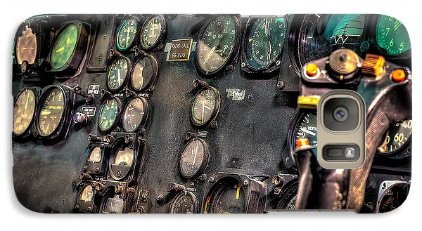 Huey Instrument Panel Galaxy S7 Case by David Morefield