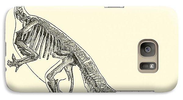 Iguanodon Galaxy Case by English School