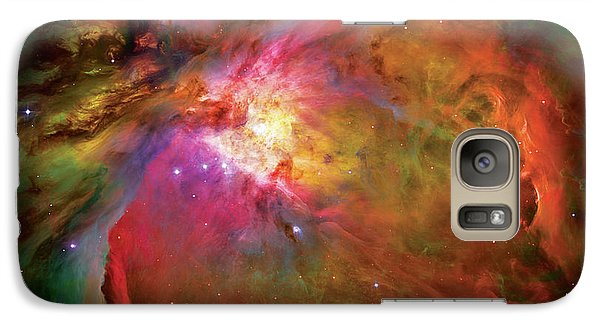 Into The Orion Nebula Galaxy S7 Case by The  Vault - Jennifer Rondinelli Reilly