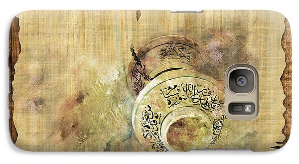 Islamic Calligraphy 037 Galaxy Case by Catf