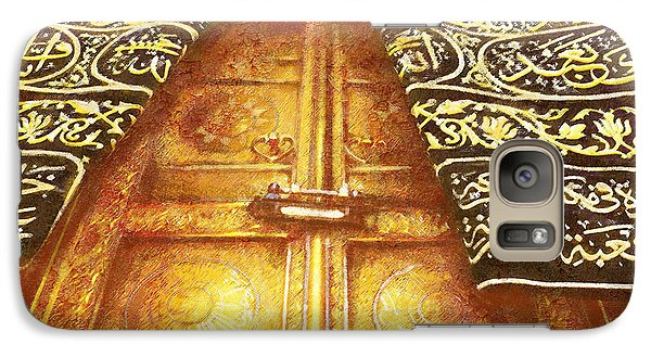 Islamic Painting 008 Galaxy Case by Catf