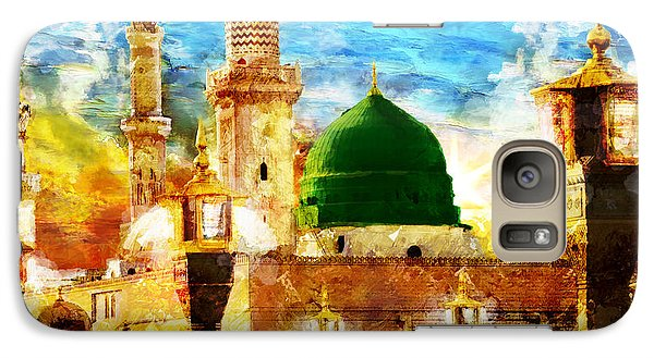 Islamic Paintings 005 Galaxy Case by Catf