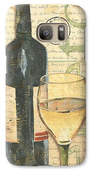 Italian Wine And Grapes 1 Galaxy S7 Case by Debbie DeWitt