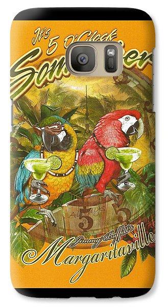 It's 5 O'clock Somewhere Galaxy S7 Case by Desiderata Gallery