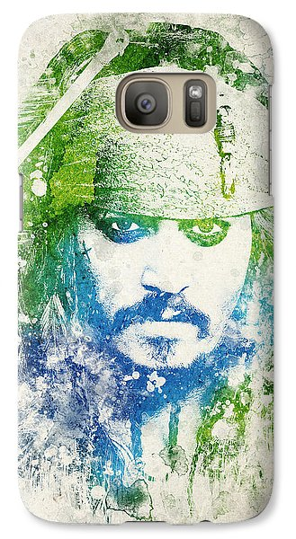 Jack Sparrow Galaxy Case by Aged Pixel