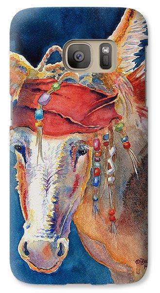 Jack Burro -  Donkey Galaxy Case by Deb  Harclerode