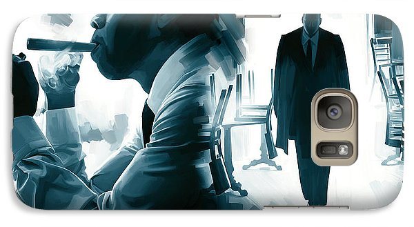 Jay-z Artwork 3 Galaxy Case by Sheraz A