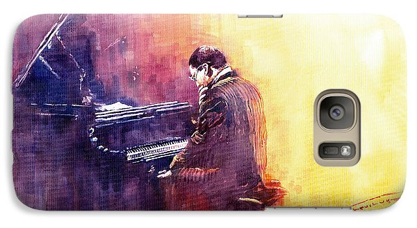 Jazz Herbie Hancock  Galaxy S7 Case by Yuriy  Shevchuk