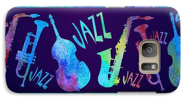 Jazzy Combo Galaxy S7 Case by Jenny Armitage