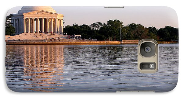 Jefferson Memorial Galaxy Case by Olivier Le Queinec