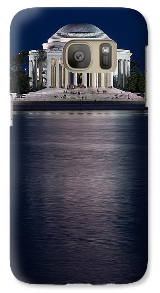 Jefferson Memorial Washington D C Galaxy S7 Case by Steve Gadomski