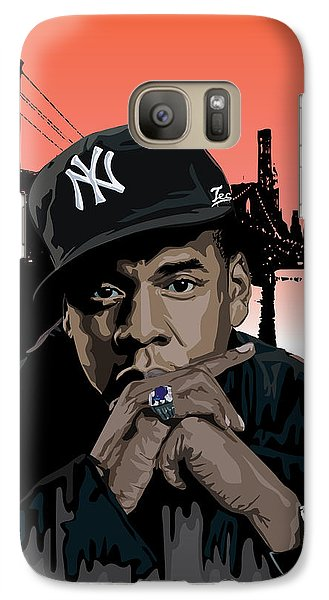 Jigga Galaxy S7 Case by Lawrence Carmichael