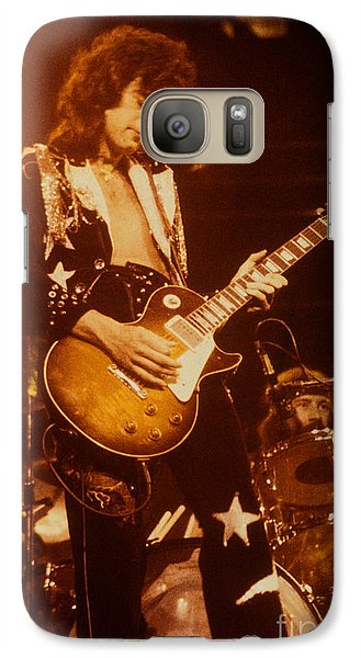 Jimmy Page 1975 Galaxy Case by David Plastik
