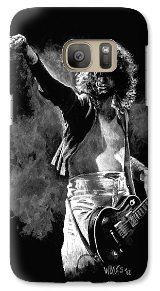 Jimmy Page Galaxy Case by William Walts