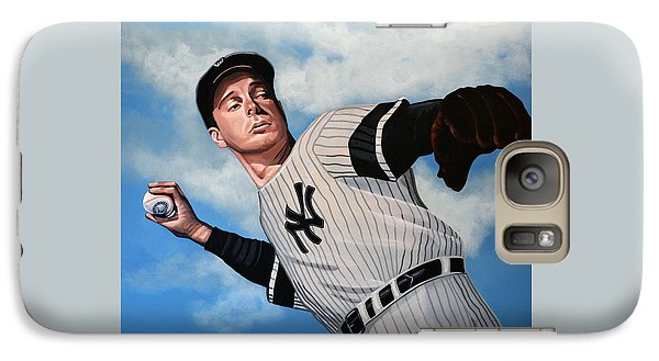 Joe Dimaggio Galaxy S7 Case by Paul Meijering